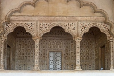 Agra fort throne room 775