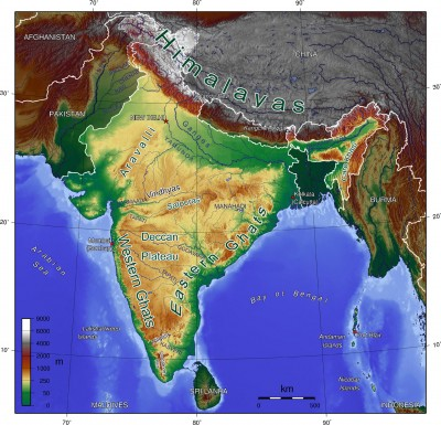 India_Geographic_Map