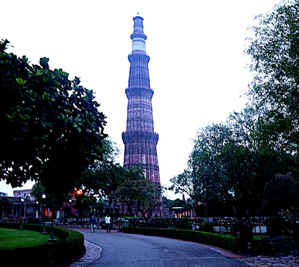 Qutub Minar tower 004