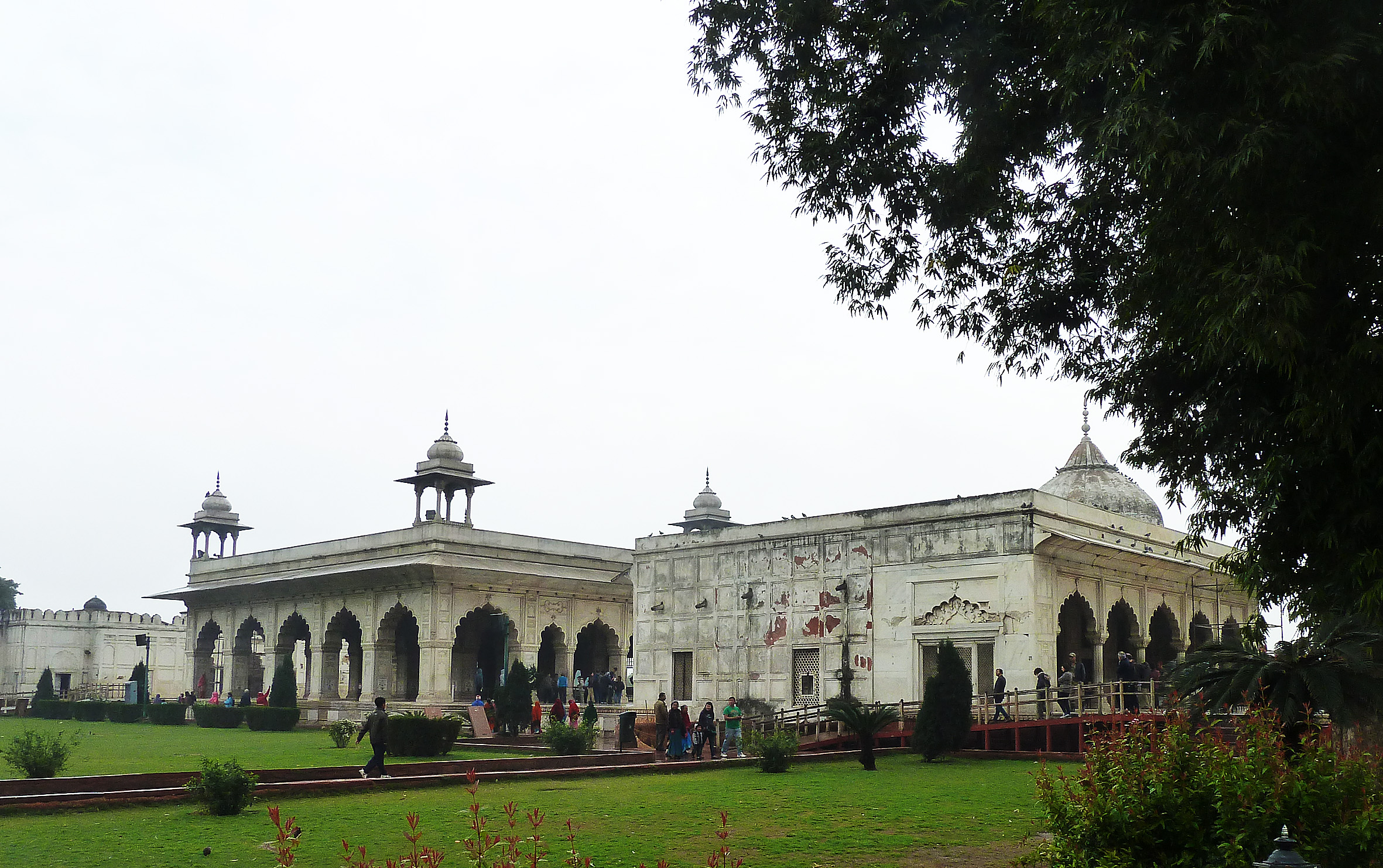 Red Fort marble palaces AS 0641