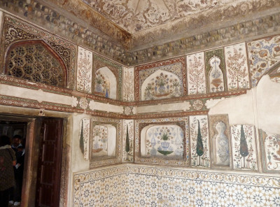 Interior of the Itimad-ud-Daulah,