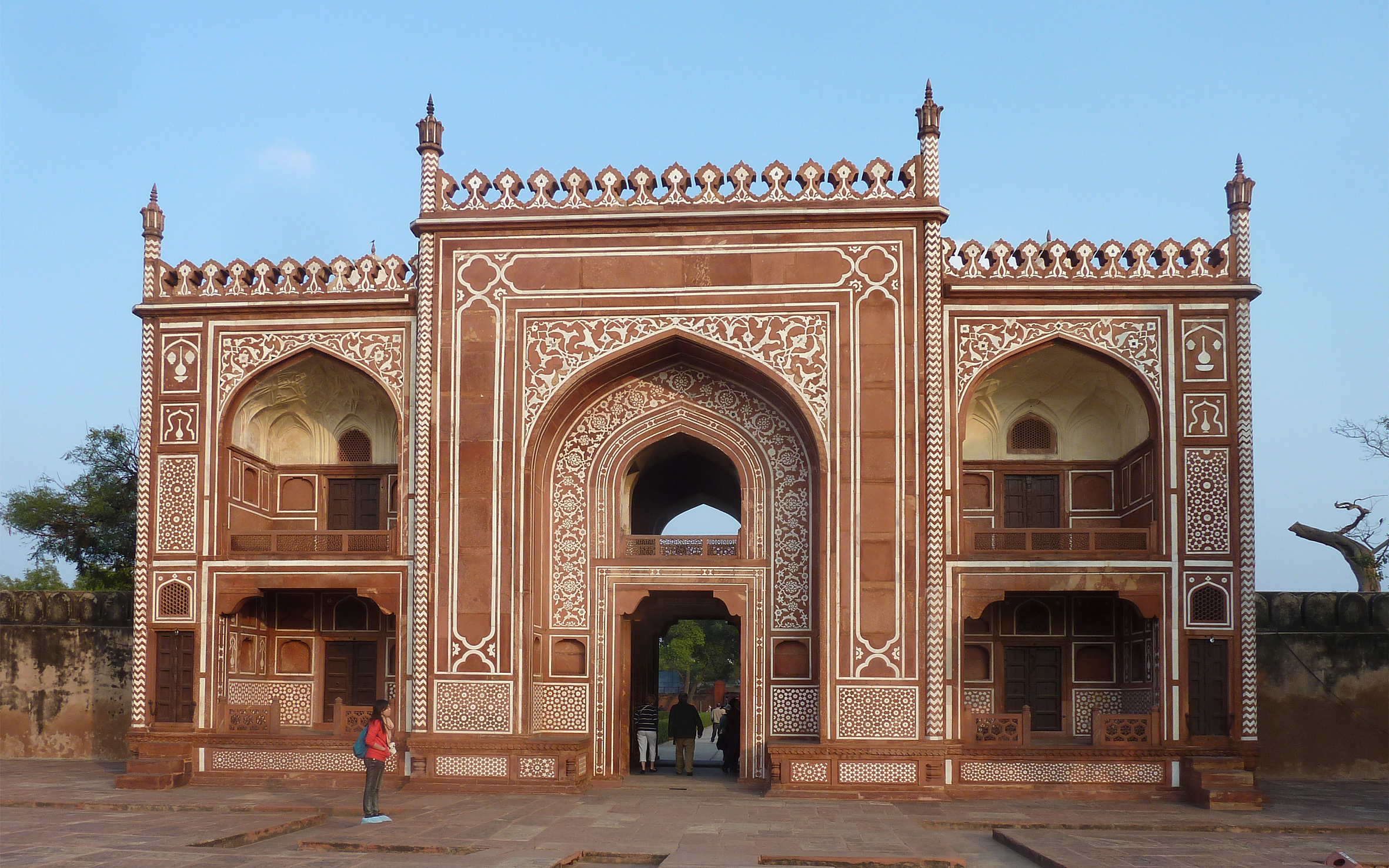 The Itimad-ud-Daulah, or Baby Taj: entrance gateway